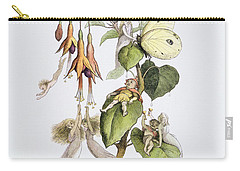 Feasting And Fun Among The Fuschias Carry-all Pouch by Richard Doyle