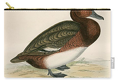 Ferruginous Duck Carry-all Pouch by Beverley R Morris