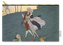 Fetes Galantes Carry-all Pouch by Georges Barbier