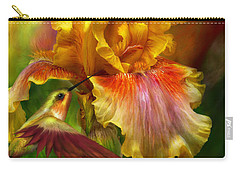 Fire Goddess Carry-all Pouch by Carol Cavalaris
