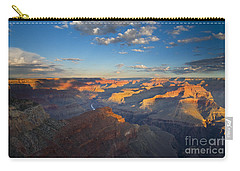 First Light On The Colorado Carry-all Pouch by Mike  Dawson