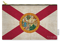 Florida State Flag Carry-all Pouch by Pixel Chimp