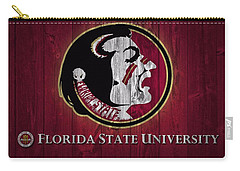 Florida State University Barn Door Carry-all Pouch by Dan Sproul