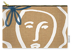 Flower Girl Carry-all Pouch by Linda Woods
