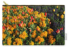 Flowers In Hyde Park, City Carry-all Pouch by Panoramic Images