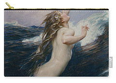 Flying Fish Carry-all Pouch by Herbert James Draper