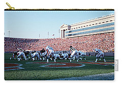 Football Game, Soldier Field, Chicago Carry-all Pouch by Panoramic Images