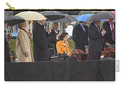 Former Us President Bill Clinton Carry-all Pouch by Panoramic Images