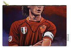 Francesco Totti Carry-all Pouch by Paul Meijering