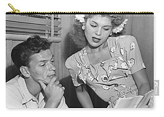 Frank Sinatra & Eileen Barton Carry-all Pouch by Underwood Archives