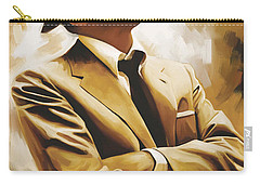 Frank Sinatra Artwork 1 Carry-all Pouch by Sheraz A
