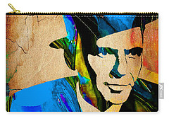 Frank Sinatra My Way Carry-all Pouch by Marvin Blaine