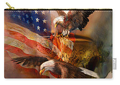 Freedom Ridge Carry-all Pouch by Carol Cavalaris
