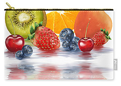 Fresh Fruits Carry-all Pouch by Veronica Minozzi