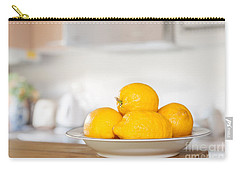 Freshly Picked Lemons Carry-all Pouch by Amanda Elwell