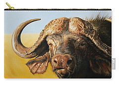 African Buffalo Carry-all Pouch by Mario Pichler