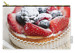Fruit Tart With Spoon Carry-all Pouch by Elena Elisseeva