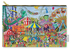 Fun At The Fairground Carry-all Pouch by Mark Gregory
