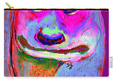 Funky Meerkat Tunnel Art Print Carry-all Pouch by Sue Jacobi
