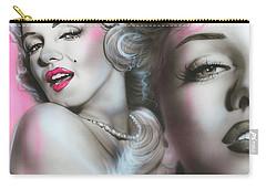 Marilyn Monroe - ' Gentlemen Prefer Blondes ' Carry-all Pouch by Christian Chapman Art