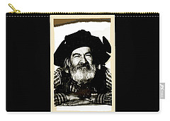 George Hayes Portrait #1 Card Carry-all Pouch by David Lee Guss