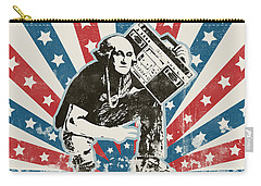 George Washington - Boombox Carry-all Pouch by Pixel Chimp