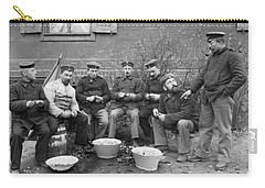 Germans Peeling Potatoes Carry-all Pouch by Underwood Archives