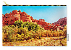 Getting The Sun In Canyon De Chelly Carry-all Pouch by Dr Bob Johnston