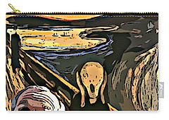 Ghosts Of The Past Carry-all Pouch by John Malone