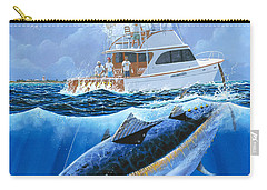 Giant Bluefin Off00130 Carry-all Pouch by Carey Chen