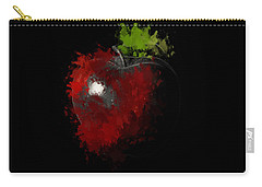 Gimme That Apple Carry-all Pouch by Lourry Legarde