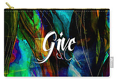 Give Carry-all Pouch by Marvin Blaine