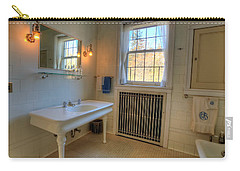 Glensheen Bathroom Duluth Carry-all Pouch by Amanda Stadther
