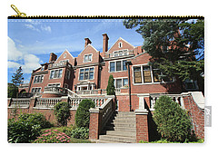 Glensheen Mansion Exterior Carry-all Pouch by Amanda Stadther