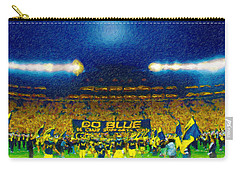 Glory At The Big House Carry-all Pouch by John Farr