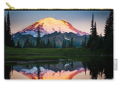 Glowing Peak Carry-all Pouch by Inge Johnsson