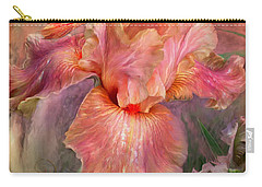 Goddess Of Spring Carry-all Pouch by Carol Cavalaris