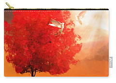 God's Love Carry-all Pouch by Lourry Legarde