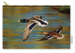 Golden Pond Carry-all Pouch by Crista Forest