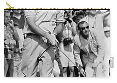 Golfer Arnold Palmer Carry-all Pouch by Underwood Archives