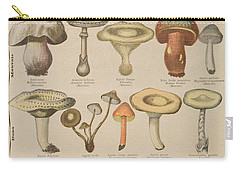 Good And Bad Mushrooms Carry-all Pouch by French School