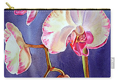 Gorgeous Orchid Carry-all Pouch by Irina Sztukowski