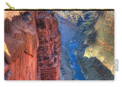 Grand Canyon Awe Inspiring Carry-all Pouch by Bob Christopher