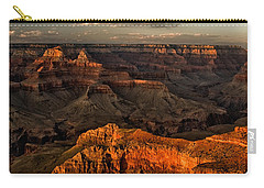 Grand Canyon Sunset Carry-all Pouch by Cat Connor
