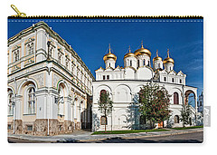 Grand Kremlin Palace With Cathedrals Carry-all Pouch by Panoramic Images