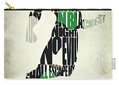 Green Lantern Carry-all Pouch by Ayse Deniz