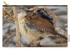 Grumpy Bird Carry-all Pouch by Bill Wakeley