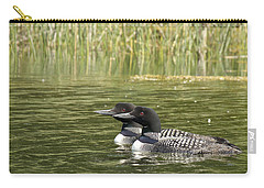 Happy Couple Carry-all Pouch by Penny Meyers