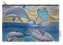 Happy Hour Re003 Carry-all Pouch by Carey Chen