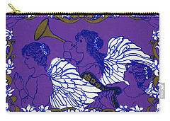 Hark The Herald Angels Sing Carry-all Pouch by Kimberly McSparran